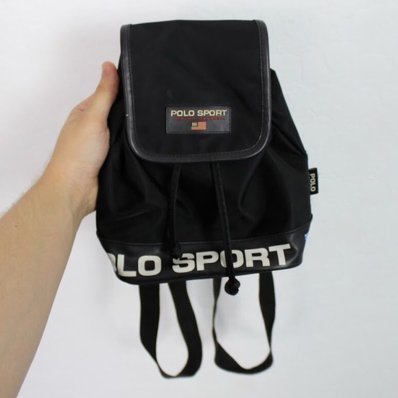 c7244e7299 Vintage Polo Sport Ralph Lauren Mini Backpack. M 5b43cbdd534ef901003b578b